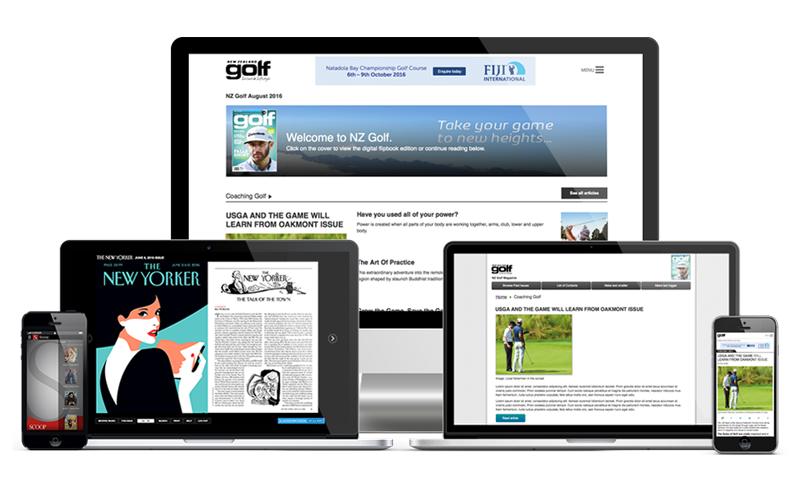 Digital Magazine Publishing Solution