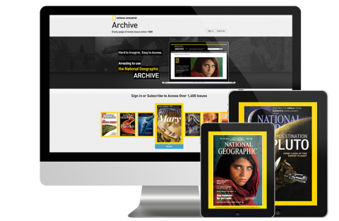 National Geographic Interactive Archive