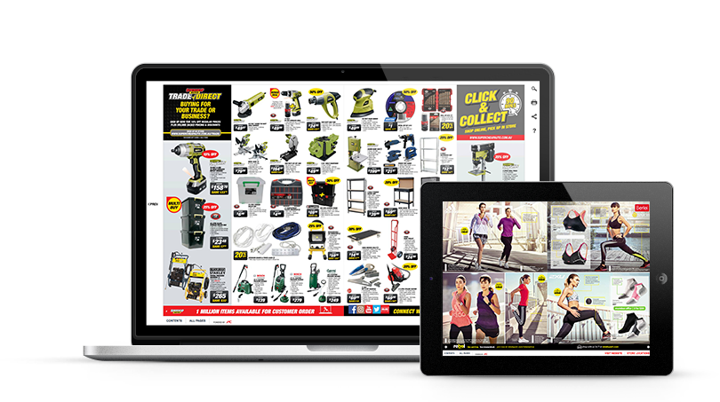 Digital product catalog