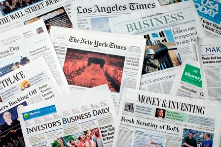 The Dramatic Drop In The Value Of Newspaper Businesses