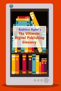 eBook design over orange background,vector illustration