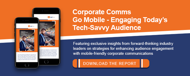 Corporate Communications Go Mobile Free Report