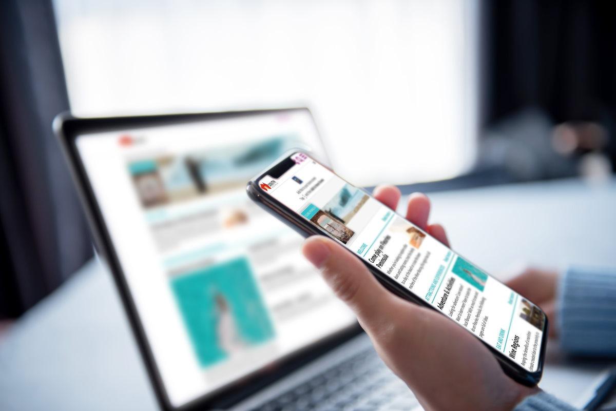Mobile responsive on mobile web