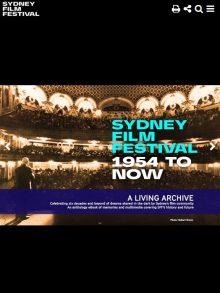 Sydney Film Festival Archive
